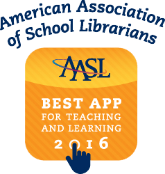 American Association of School Librarians Best App 2016